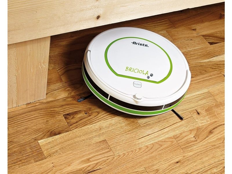 Aspirateur robot de 0,5l 25w vert blanc