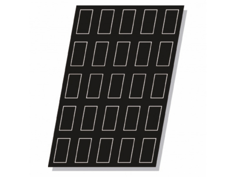 Moule flexipan® plaque silicone 24 mini cakes - pujadas - lot de 5 - silicone