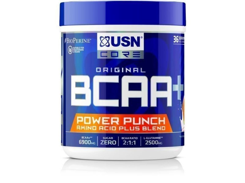 Usn boisson bcaa power punch - pasteque - 400 g