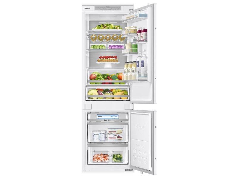 Réfrigérateur combiné intégrable à glissière 266l a+ ventilé - brb260031ww brb260031ww