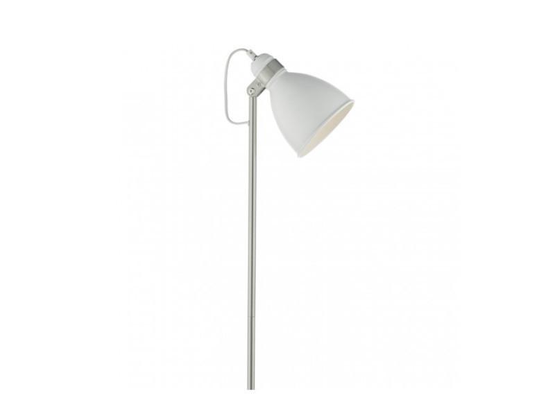 Satiné Blanc Ampoule Vente De Lampadaire 1 Et Chrome Frederick vYbfy7g6