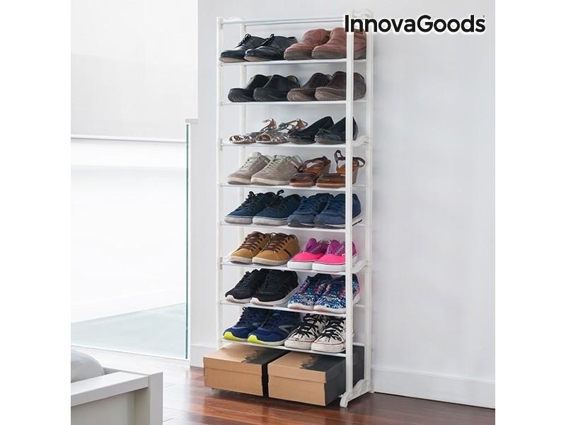 Range-chaussures Innovagoods (30 Paires) - Vente De Meuble à Chaussures -  Conforama