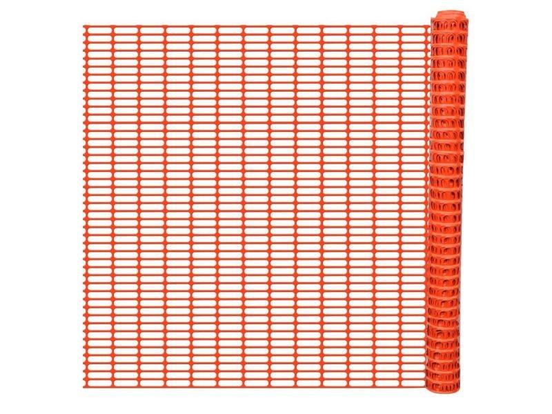 Chic clôtures et barrières ensemble freetown barrière de signalisation rouleau de 50m