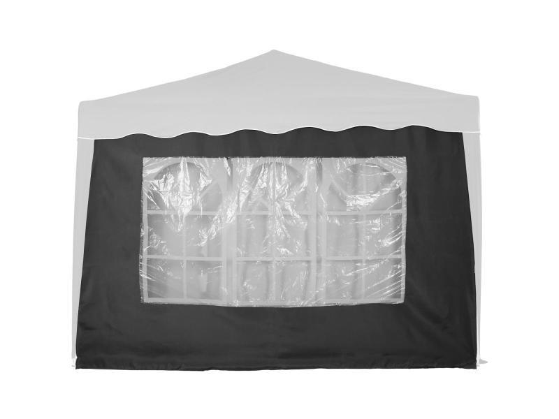 Instent® panneau latéral > avec 3 fenêtres, sans fermeture à glissière, coloris au choix - couleur : gris