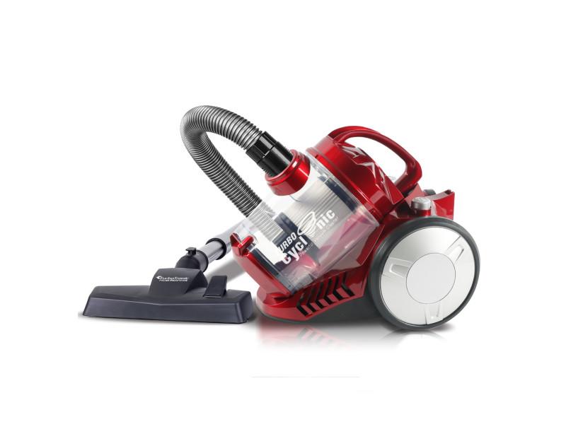 Aspirateur turbotronic cv07 sans sac 900 watt - rouge 4953321585403