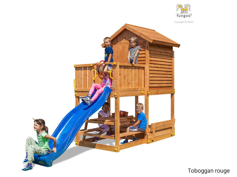 Aire de jeux my house free time beach rouge - fungoo