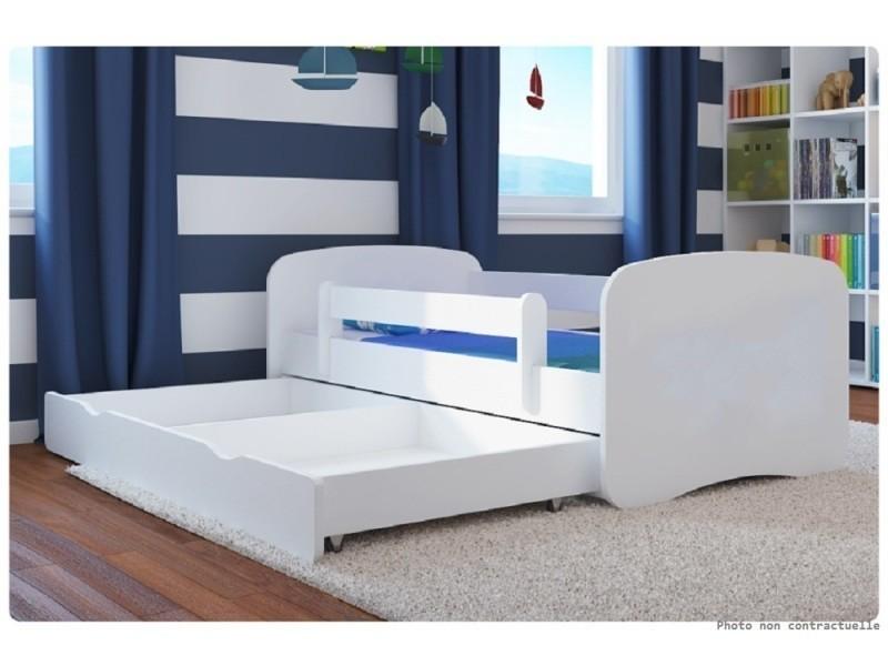 lit enfant pelleteuse 80 cm x 160 cm avec barriere de. Black Bedroom Furniture Sets. Home Design Ideas