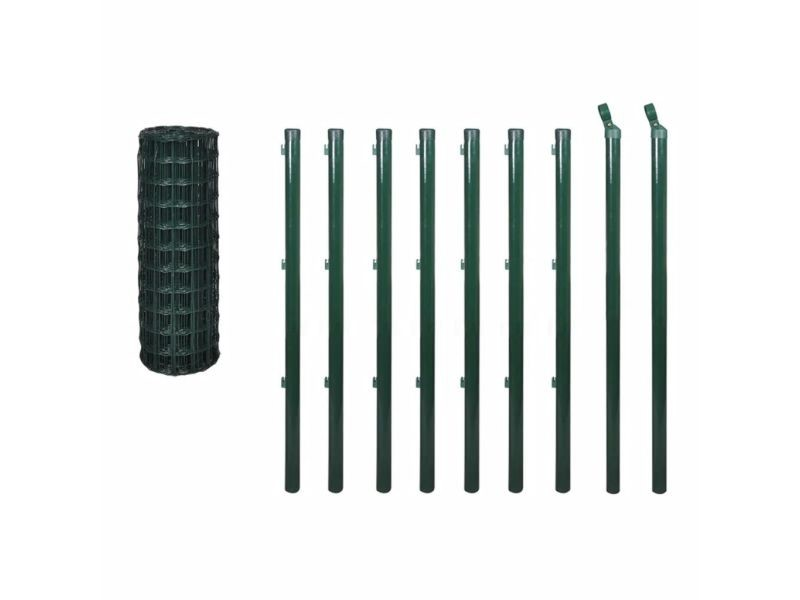 Icaverne - panneaux de clôture categorie kit de grillage 10 x 1,0 m