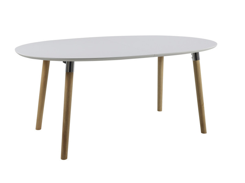 Table de salle manger extensible sven vente de hellin conforama for Chemin de table conforama