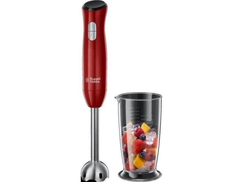 Russell hobbs 24690-56 mixeur plongeant desire - 500 w - rouge intense