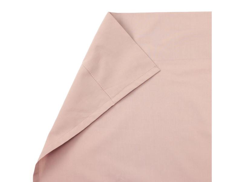 Drap plat 240x310 cm uni percale de coton pigalle
