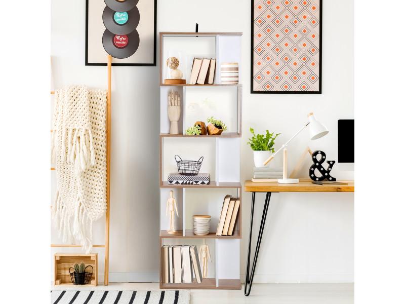 biblioth que tag re meuble de rangement design. Black Bedroom Furniture Sets. Home Design Ideas