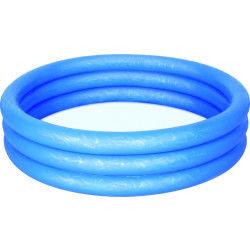 Piscine gonflable 3 boudins atlantica - diam. 1,2 m - bleu