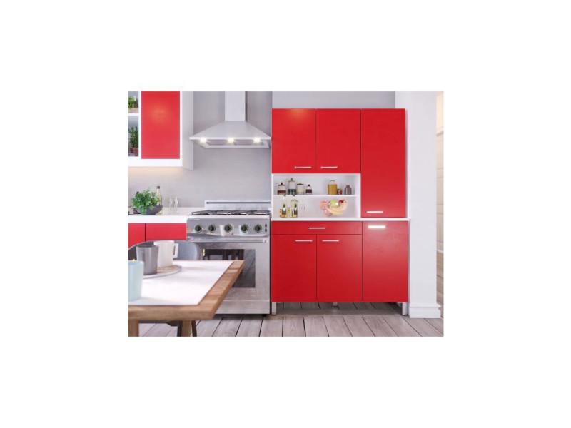 Tacoma buffet de cuisine l 120 cm - rouge mat T75306V205LVO
