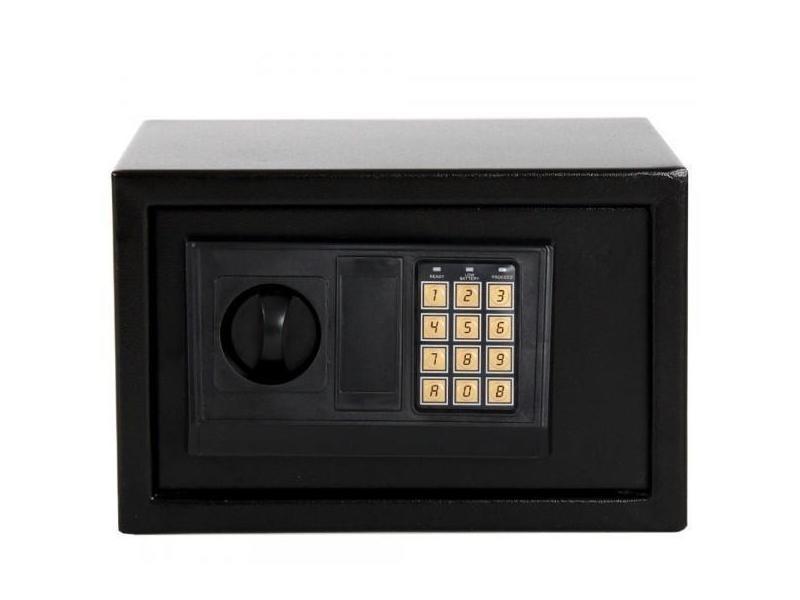 mini coffre fort acier avec serrure code lectronique helloshop26 0408001 vente de coffre et. Black Bedroom Furniture Sets. Home Design Ideas