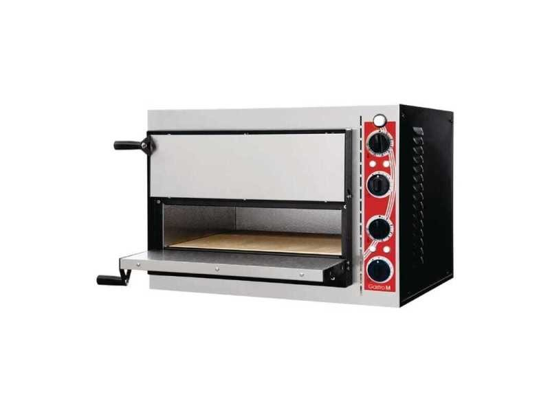 Four à pizza double electrique compact - 2 pizzas de 32 cm - pisa gastro m -