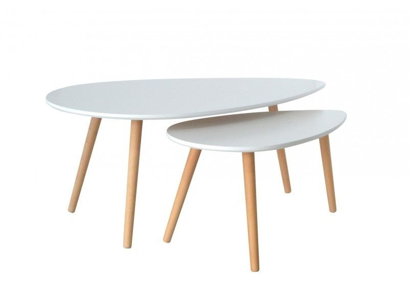 table basse scandinave blanc avesta conforama. Black Bedroom Furniture Sets. Home Design Ideas