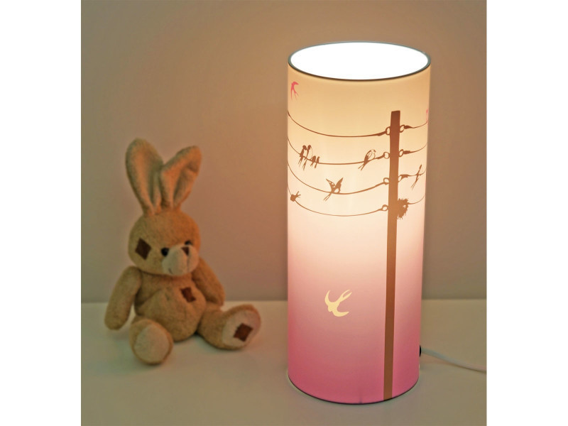 Lampe de chevet enfant hirondelles vente de r et m - Conforama lampe de chevet ...