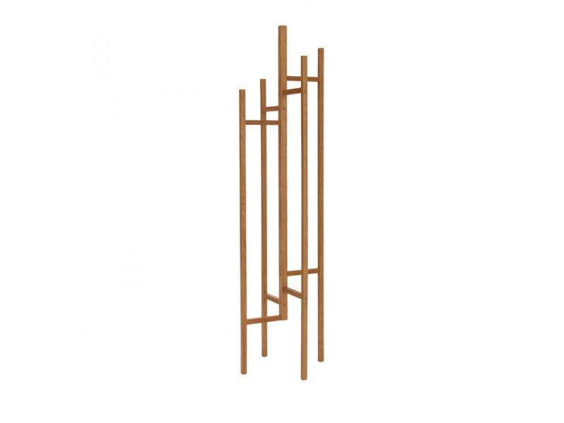 Eigen - porte-manteaux design bois massif - couleur - bois massif 117349001012