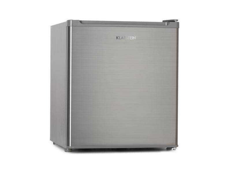 Congélateur compact - klarstein garfield eco - 4 étoiles - 34 litres - inox argent