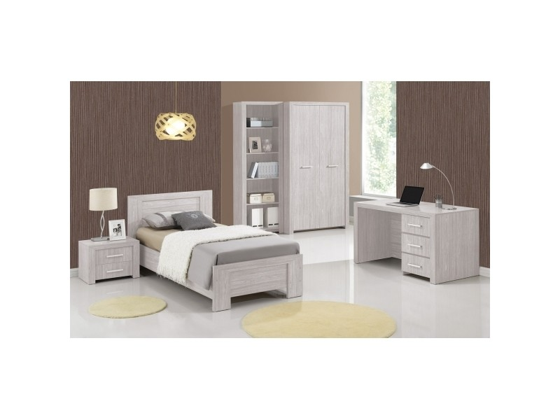 bureau enfant 130 cm motor l 130 x h 175 x p 70 cm ch ne gris vente de bureau enfant. Black Bedroom Furniture Sets. Home Design Ideas