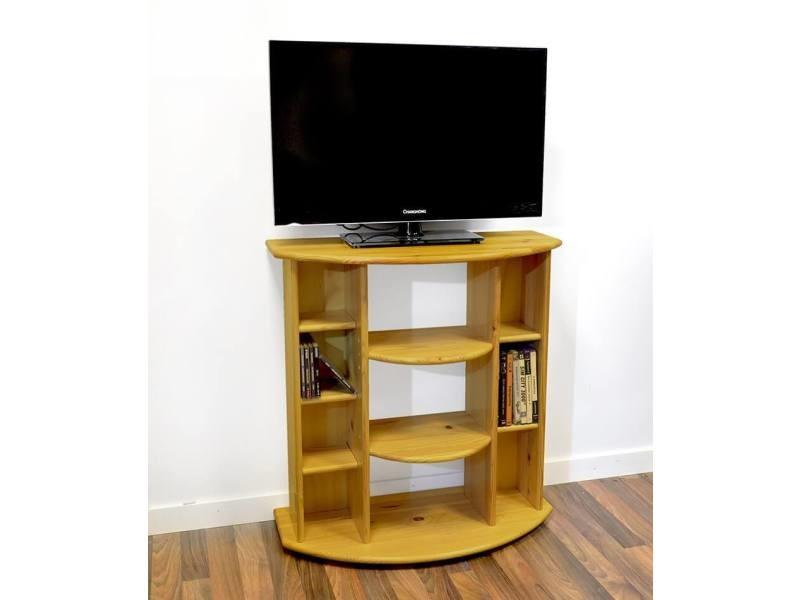 Meuble tv/hifi bois miel 0225-M