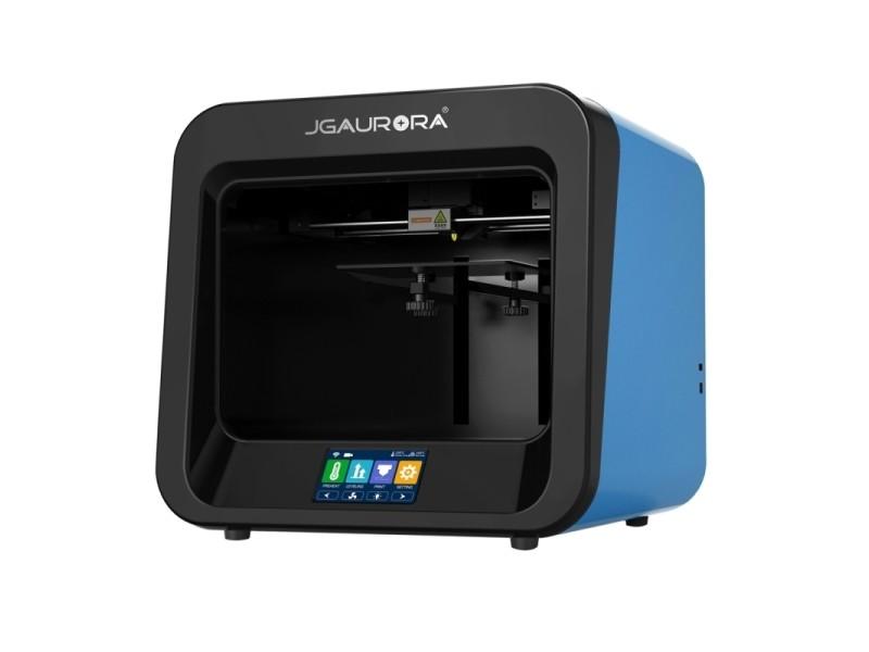 cfdb593ca1a92 Imprimante 3d bleu bureau haute précision plaque métallique + injection cadre  3d tridimensionnelle physique