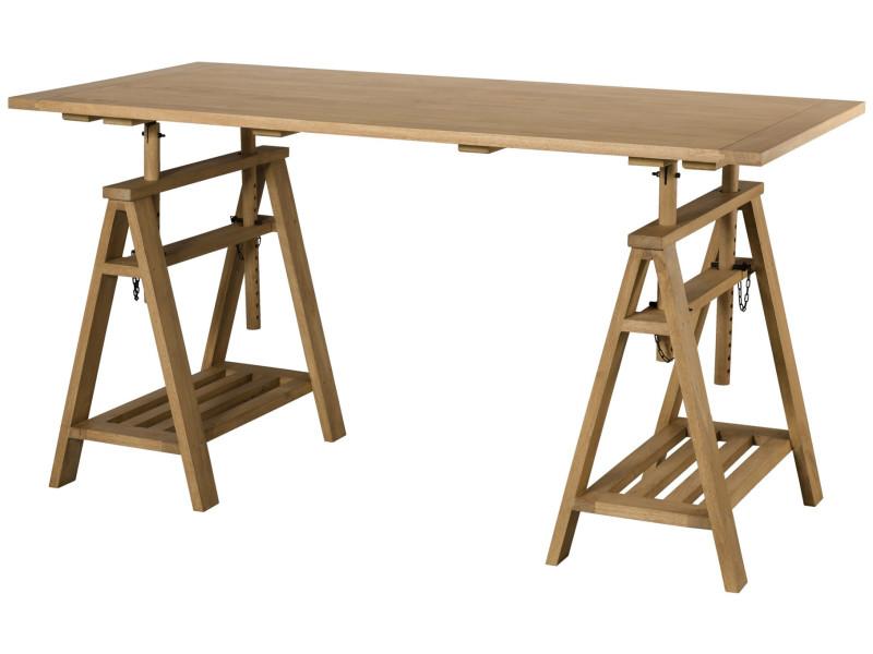 Bureau en verre ikea bureau treteau verre table bureau treteaux