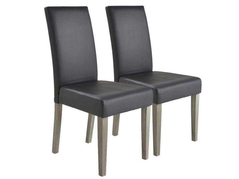 Lot de 2 chaises \