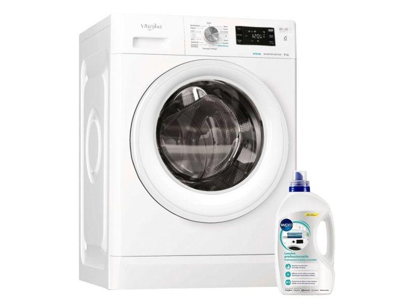 Lave-linge frontal 8kg 1400trs/min freshcare machine à laver hublot