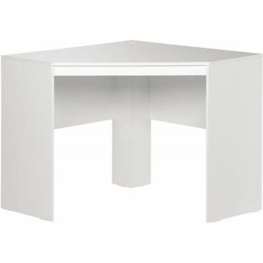 Bureau D Angle Blanc Vente De Beauxmeublespaschers Conforama