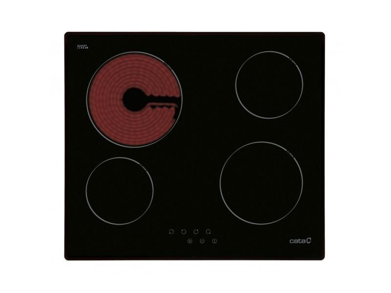 Cata table de cuisson vitrocéramique t604 60cm noire 08052206