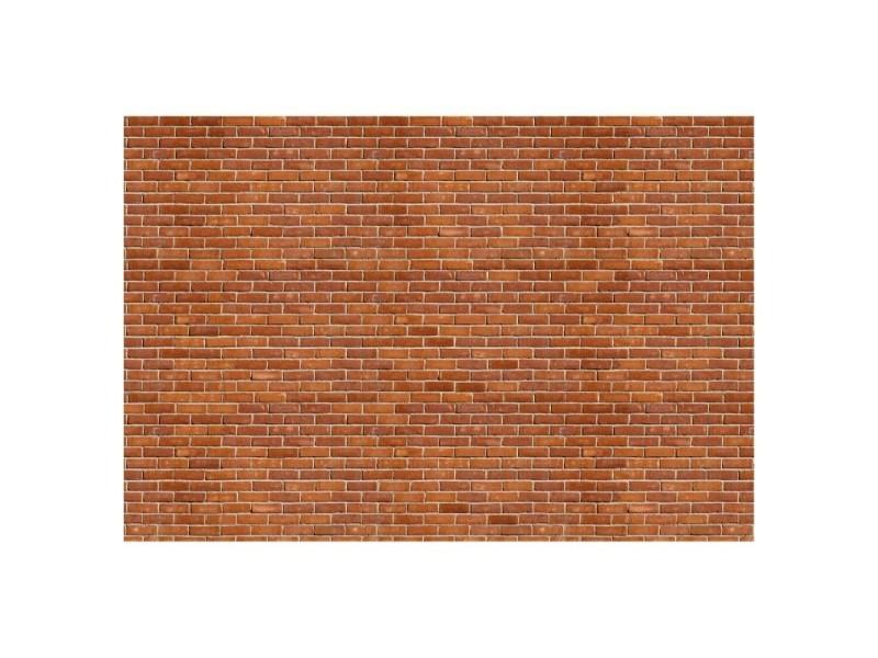 Papier peint rouges briques 400 x 270 cm - tapisserie murale panoramique xxl