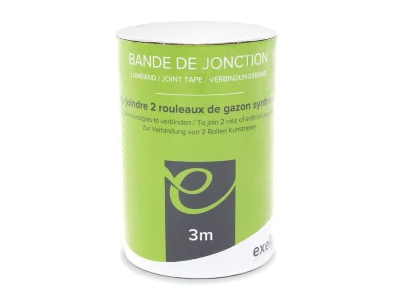 Gazon artificiel gazon synthétique - bande de jonction préencollée - 3m
