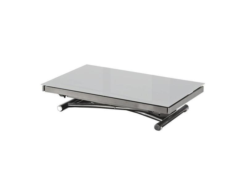 Table Basse Jump Extensible Relevable Grise 20100847585 Vente De