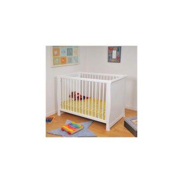 Lit bébé teddy / blanc 3080/9 - Vente de Lit bébé - Conforama