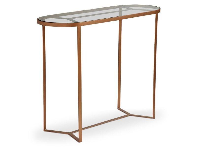 Paris prix - console en métal & verre design \