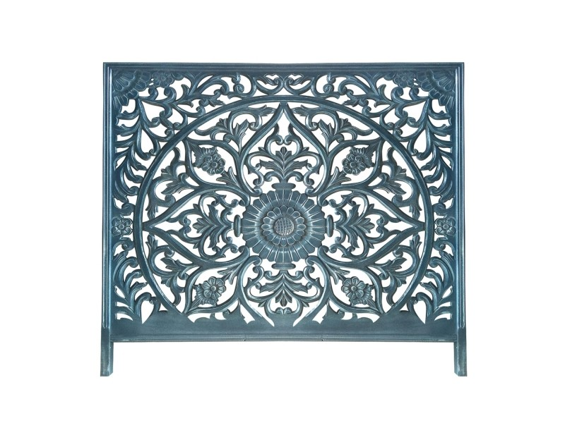 Tête de lit menara 160cm bois bleu