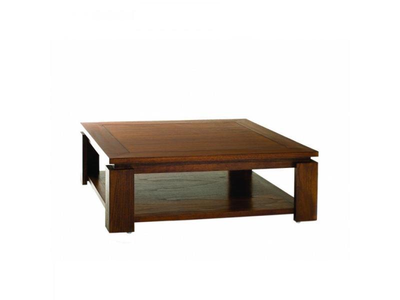 Table basse 90 x 90 cm lauren style colonial en mindi 20100857837