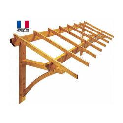 Jardipolys - auvent en bois 325 x 113,3 cm 4 m2 - firenze