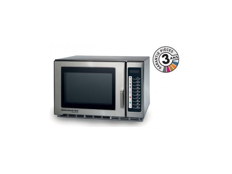 Four micro-onde professionnel - 34 l - 1800 w - rfs518ts - menumaster - 3400 cl