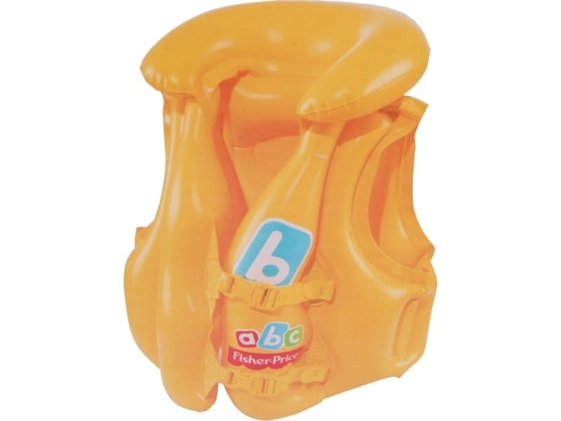 Gilet de natation swim safe step b - 51 x 46 cm - jaune