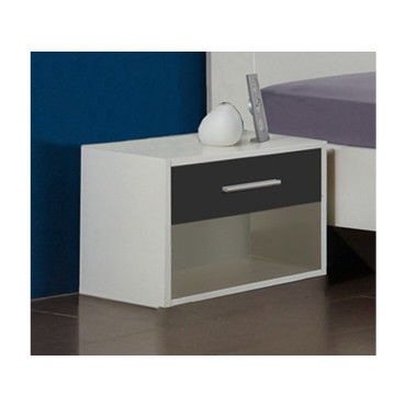 Chevet Design De Vente Cuir Simili Eva Table En Blanc 9HW2IDE