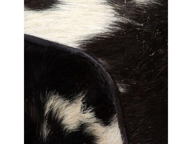 Icaverne - bancs coffres selection tabouret cuir véritable de chèvre 40 x 30 x 45 cm