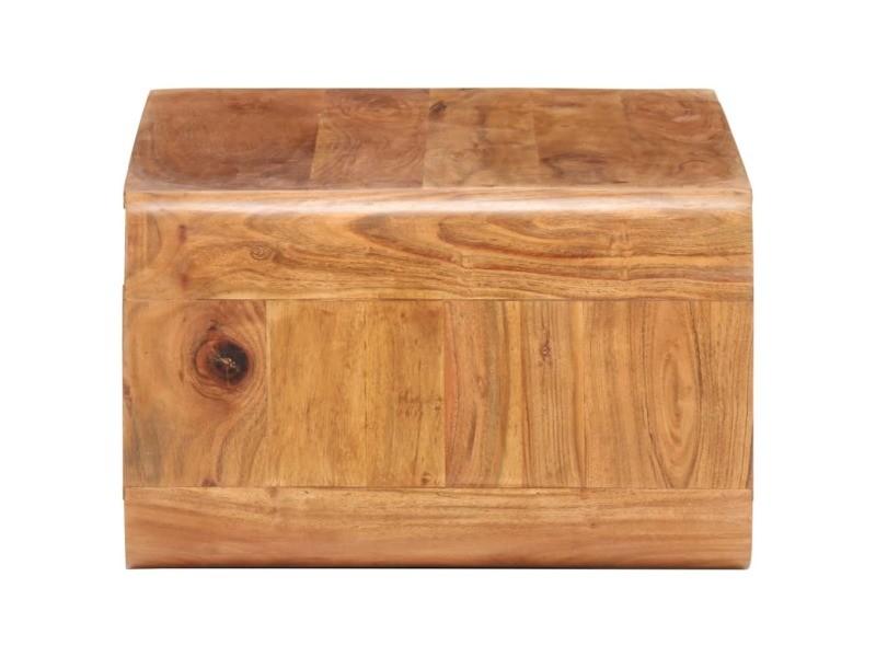 Vidaxl table basse 90x50x30 cm bois d'acacia massif 289651