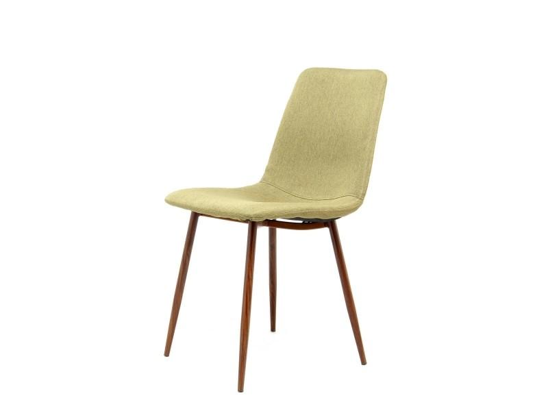 Maggie chaises design revêtement au de 2 Vente champagne tdxrhCsQ