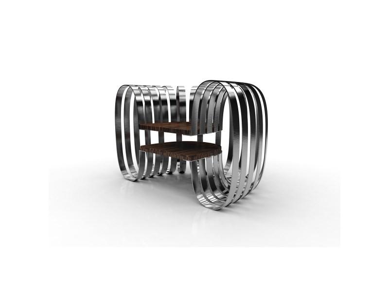 Fauteuil design platinum argent vente de thomas de lussac conforama - Fauteuil design conforama ...