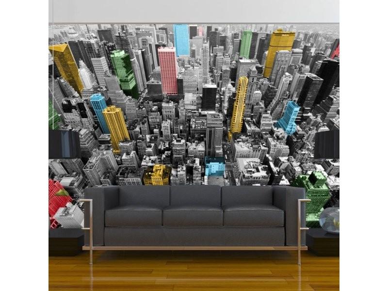 Papier peint new york kaleidoscope A1-XLFTNT0667