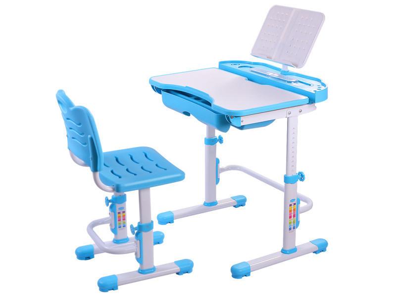 Nidouillet Ensemble Bureau Et Chaise Enfants Hauteur Reglable Table Pour Etudiant Etude Station De Travail Avec Tiroir Ab002