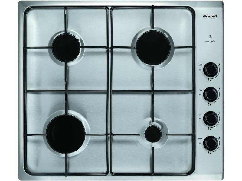 Table de cuisson à gaz 60cm 4 feux inox - bpe6410x bpe6410x